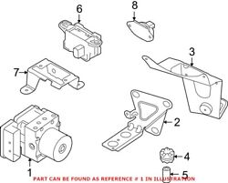 Genuine Oem Abs Hydraulic Assembly For Bmw 34502460436