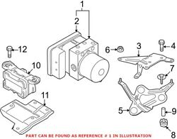 Genuine Oem Abs Hydraulic Assembly For Bmw 34502460440