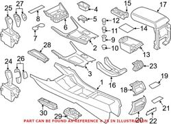 Genuine Oem Automatic Transmission Shift Lever For Bmw 61317950396