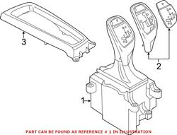 Genuine Oem Automatic Transmission Shift Lever For Bmw 61317950400