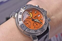 Sector Diving Team 1000 Limited Edition Umberto Pellizzari Chronograph Complete