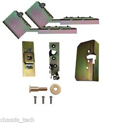 V Universal Tailgate Suicide Swing Hinges And Latches Hidden Weld In Parts