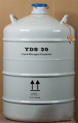 50l Cryogenic Container Liquid Nitrogen Ln2 Tank With Protective Sleeve Bi
