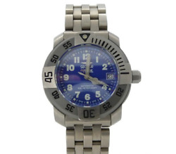 [new] Sector Diving Team 1000 Automatic Date Titanium Blue Dial Menand039s Watch