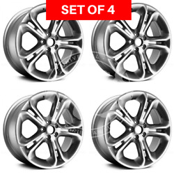 Four 20 Replacement Alloy Silver Wheel Rim Fits Ford Explorer 2011-2015 5x114