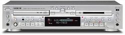 Teac Md-70cd-s Cd Player Md Recorder Silver Mini Disc Cd Combination Deck New