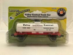 Lionel 6-81292 O Gauge Valley Central Single Dome Tank Car Brand New