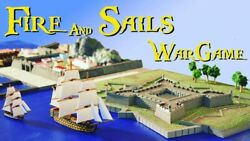 Fire And Sails Sails Of Glory 1/1000 Napoleonic Wars Naval Starter Set