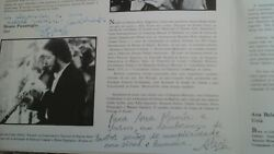 Opus Ensemble Lp 1982 Portugal Signed By Ana Bela Chaves Prats Pizzamiglio..