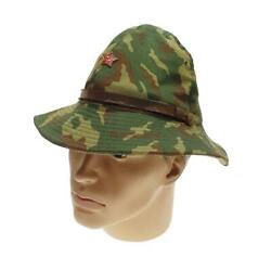 Russian Panama Camouflage Military Soviet Cap Army Ussr Soldier Hat Uniform