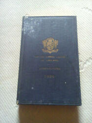 1926 Masonic Book United Grand Lodge Of England Constitutions