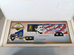 1995 New York Yankees Babe Ruth Tractor Trailer Mib Large 12 Inch 164 Scale