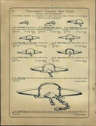 1888 Paper Ad 6 5 Newhouseand039s Grizzly Bear Moose Leg Hold Trap