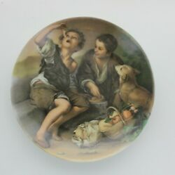 Pastetenesser Pie Eater China Plate Bartolome Murillo From Kaiser W, Germany