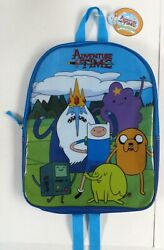 Adventure Time Kids 16quot; Backpack Book Bag Finn Jake New With Tags $19.95