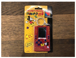 Rare Disney Mickey Mouse Key Holder Game 118 In 1 Card Vintage Brick Game Toy