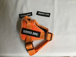 Service Dog Harness No Pull Emotional Support Pet Vest Reflective Breathable