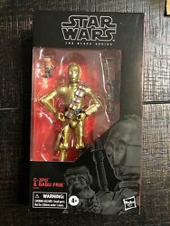 HASBRO STAR WARS BLACK SERIES 6quot; inch C 3PO amp; BABU FRIK ACTION FIGURE Exclusive $32.00