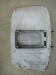 Porsche 356 A / Early B Coupe Engine Lid With Hinges  Fl59