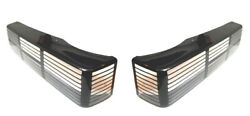1987-93 Asc Mclaren 5.0 Taillight Cover Pair Fits Lx Style Lights