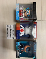 Disney Mickey Mouse Vinylmation Lot Of 3 Figure Shipped From Japan