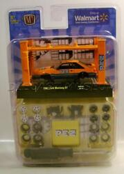 1987 '87 Ford Mustang Gt 5.0 Foxbody Pez Model Kit Diecast M2 Machines 2020