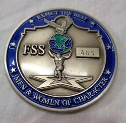 Us Air Force Commanders Coin Of Excellence Joint Base San Antonio Challenge Coin