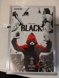 BLACK #1 FIRST PRINT BLACK MASK COMICS 2016 VF OPTIONED BY WARNER BROTHERS.