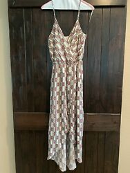 NORDSTROM Everly High Low Sundress Size S $6.99