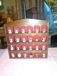 Vintage Collectible/ Novelty Thimbles From Around The World-lot