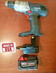 Bosch 18v Nicad Battery To Milwaukee M18 Battery Adapter