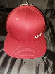 Splitz 4 Hat Adult Mens Snapback Maroon Vn0a4c2qpwv New With Tags