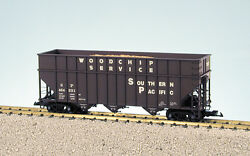 Usa Trains G Scale 14080 Woodchip Hopper Car Southern Pacific - Box Car Red