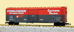 Usa Trains G Scale 50 Ft Single Door Box Car R19302a Southern Pacific - Red