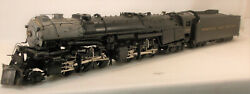 S Brass Overland Models Norfolk And Western A 2-6-6-4 Mallet Loco 1225 Painted