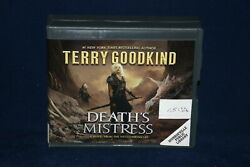 Death Mistress By Terry Goodkind Audio Book On Cd Ex-library