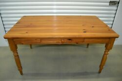 Ethan Allen Farmhouse Pine Small Dining Table Writing Desk Pine 23-6023 223