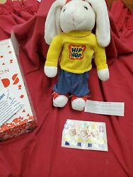NEW IN BOX 2002 Avon Kids Hip Hop Harry Avon Electric Plush Bunny Rabbit