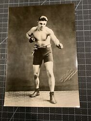 1913 1926 HARRY GREB 262 17 18 BOXER VINTAGE 6x9 C.H. COLLINS PHOTO PITTSBURGH