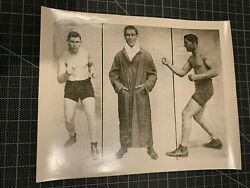 LES DARCY CHAMPION BOXER VINTAGE 8X10 PHOTO RARE