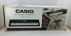 Casio Keyboard, Stand And Bench Ct-x700stab | Black Sor131