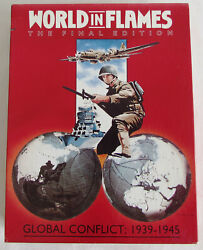 World In Flames Final Edition 6th Deluxe World War Ii Board Game Adg Unpunched
