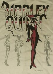 1998 Harley Quinn Vintage Shirt Tee Batman Marvel Dc Comics 90s Rap Joker Knight
