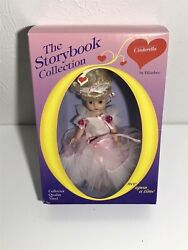 Ultra Rare Htf Effanbee Story Book Collection Cinderella 9 Doll