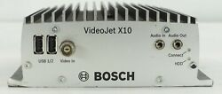 Bosch Vjt-x10s-h004 Video Jet X10 With Hard Disk 40gb Mpeg-4 Rugged 1 Channel