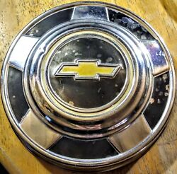 73-87 Chevy Truck 10.5 Dog Dish Poverty Hub Cap Aluminum For 15 Wheels