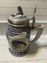 Arctic Odyssey Beer Stein. Avon 2001. Beautiful Design. New In Box. Collectible