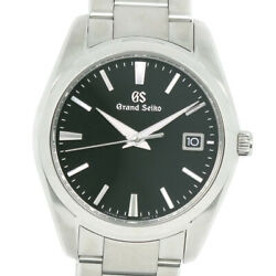 Seiko 30th Anniversary Model Watches Stainless Steel Mens Blackdial