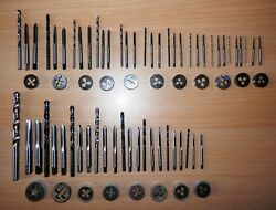 Stuart And Other Model Live Steam Engine Ba And Model Engineer Tap Die And Drill Set