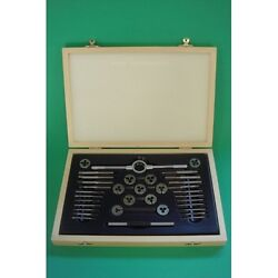 🌎stuart And Other Model Live Steam Engine Ba 0 - 10 Full Tap And Die Set In Box